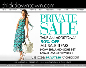chickdowntown coupon code